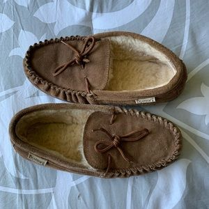 Brown BearPaw Slippers